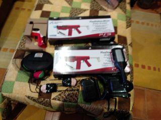 pistolas de ps3 y varios
