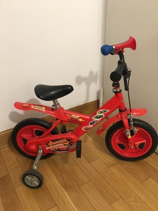 Bicicleta infantil Rayo Macqueen