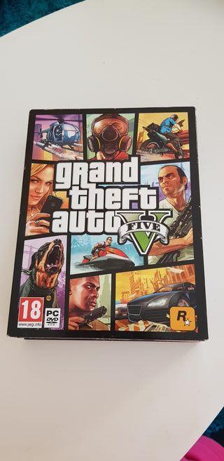 "videojuego grand theft auto V ""gta v"" PC"