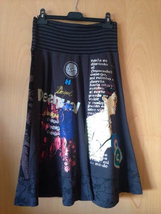 Falda desigual talla M - usada 1 vez