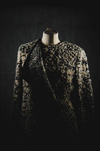 NEW PINKO Harry Monochrome Belted Cardigan