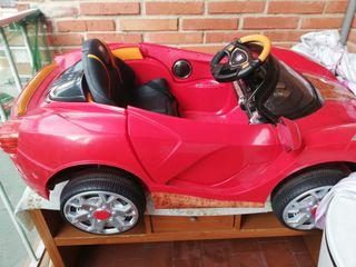 coche eléctrico para niñ@s radio control