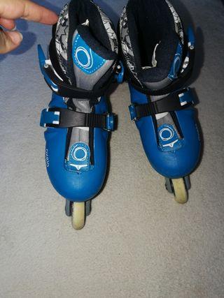 patines niño talla 30 al 33