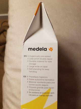 Bolsas congelación leche materna MEDELA