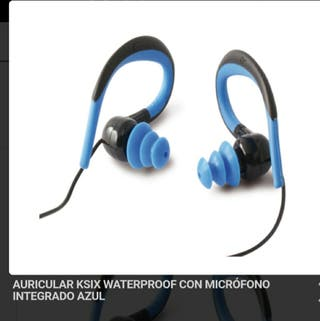 Auriculares sumergibles