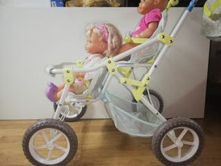 carrito de gemelos