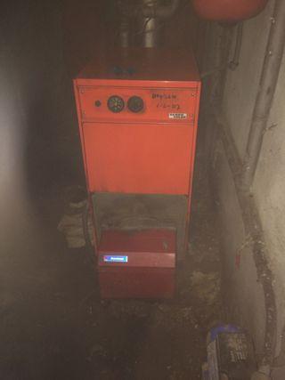 Caldera de calefacció de gas oil
