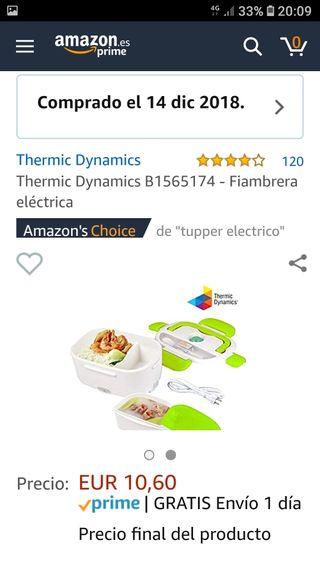 Vendo Fiambrera eléctrica Nueva!!
