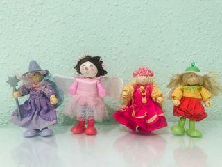 Muñecos de la casa de muñecas