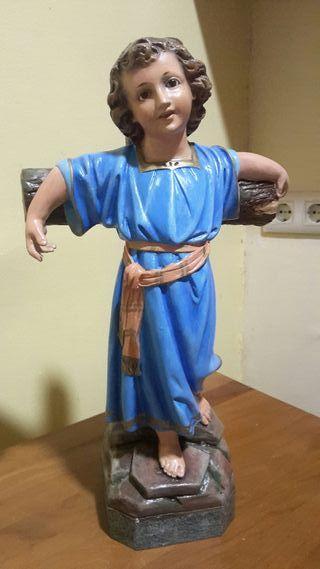 Niño Jesus en cruz