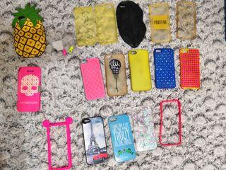 17 carcasas para I phone 5.