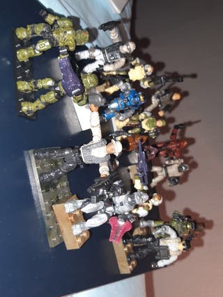 muñecos megablocks compatibles con lego
