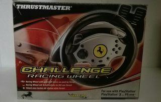 Volante y Pedales Ferrari: PS2 y PS One.