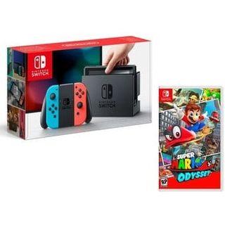 Nintendo switch + Mario Oddysey