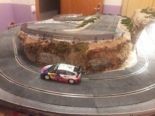 circuito rally scalextric