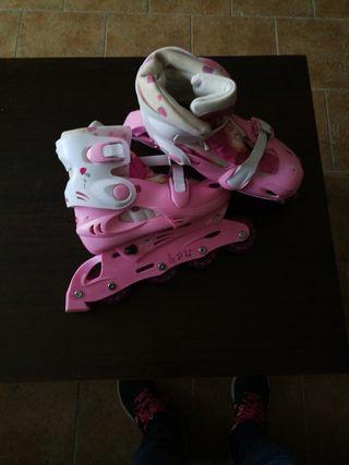 patines en linea princesas