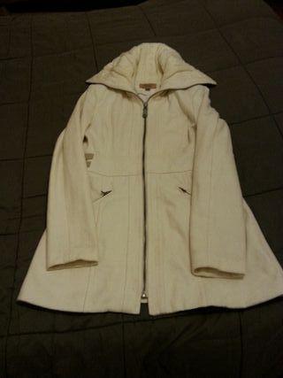 Abrigo blanco TallaL