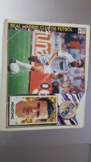 cromo futbol liga 97/98 Mijatovic real madrid
