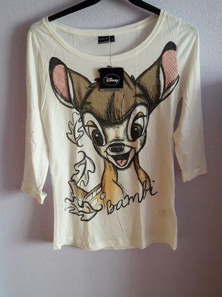 Camiseta Bambi Terranova Zara Bershka Stradivarius
