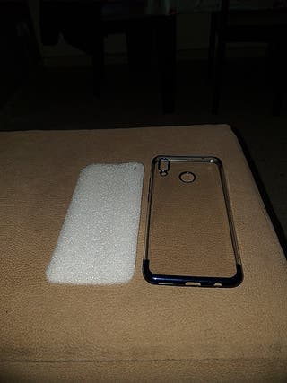 funda cilicona Huawei p smart plus