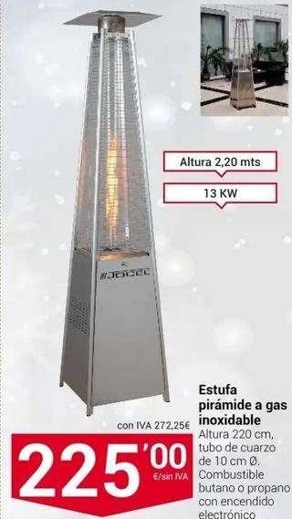 2 Calefactores de terraza PIRAMIDALES 180€×1