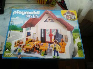 Escuela de Playmobil