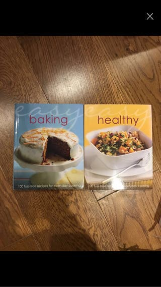 Baking and healthy books