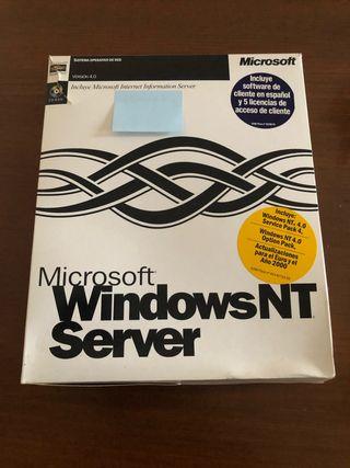 Windows NT Server 4.0 discos y manuales
