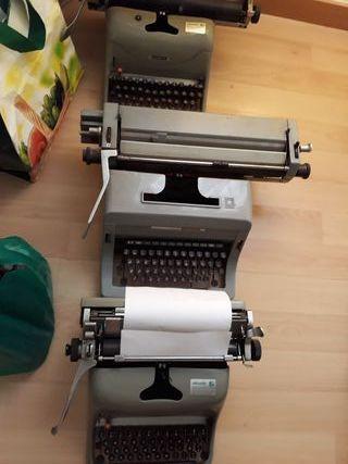 maquinas de escribir antiguas. vintage
