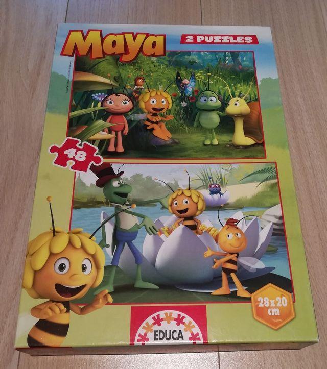 Puzzle 48 piezas Abeja Maya 4-5 años