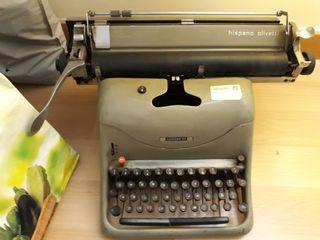 máquina escribir antigua. vintage