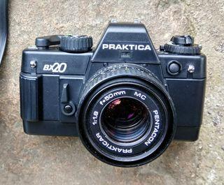 Vintage cámara fotos Praktica bx20