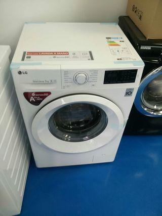 lavadora con pequeña tara lg f4jqn3w