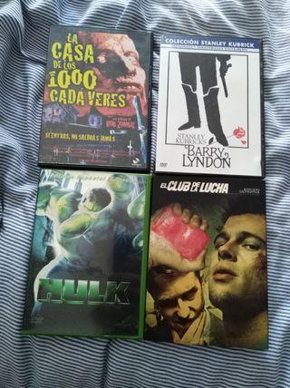 Películas varias DVD