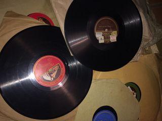 Lote 12 discos piedra para gramola
