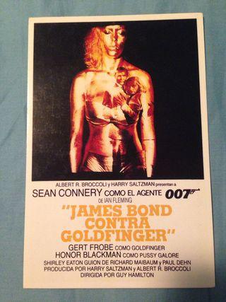 Postal James Bond contra Goldfinger