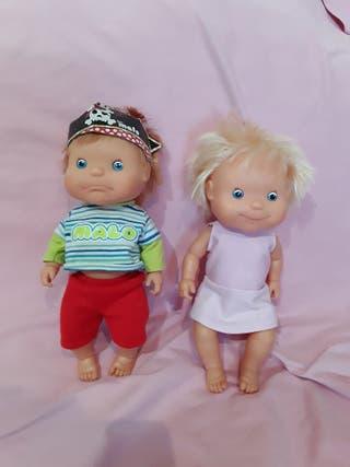 muñeca MILA Y MALO