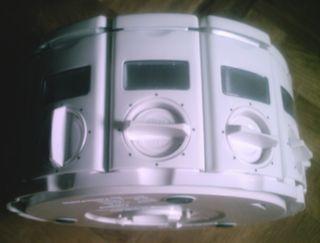 Especiero dosificador apilable rotatorio con asa