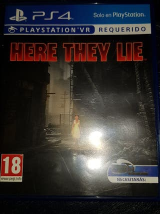 Here they lie ps4 vr