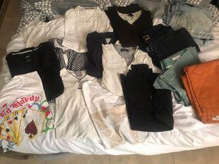 40 pz por la casa y ropa
