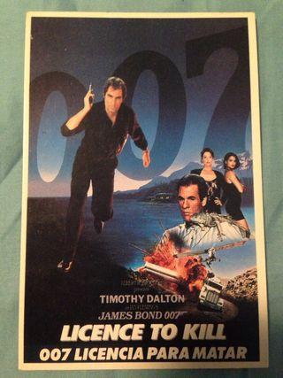 Postal 007: licencia para matar