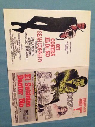 Postales 007 contra el Dr. No