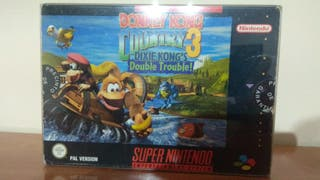 Donkey Kong Country 3 Super Nintendo PAL España