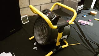 Cañon de aire caliente - Calefactor de terraza