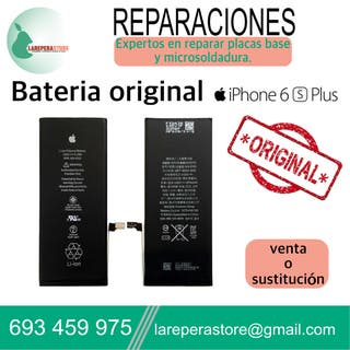 iPhone 6s Plus batería original recambio reparacio