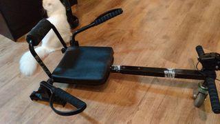 hoverboard con acesorio silla