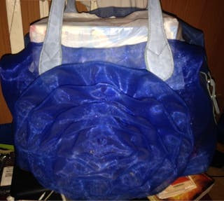 Bolso azul 2mano