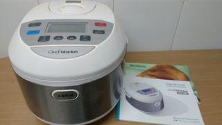 Robot de cocina Chef Titanium con voz, a estrenar.