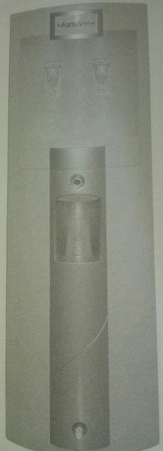 Fuente de agua, desmineralizadora