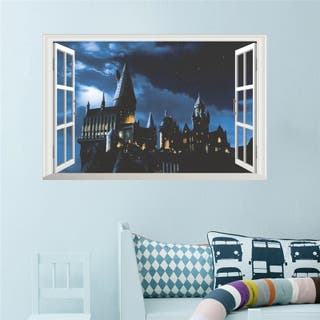 Castillo de Hogwarts en 3D